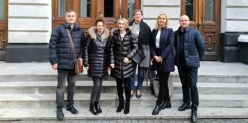 2019-09-26 Wycieczka studentów z Erasmusa po Legnicy