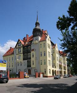 Dom Studenta przy ul. A. Mickiewicza 10