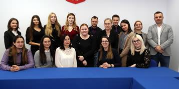 2019-11-26 Spotkanie  Rady Uczelnianej Samorz±du Studenckiego z w³adzami Uczelni