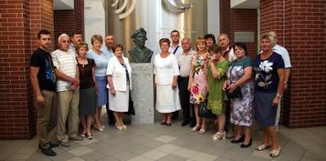 2019-07-26 - Samorz±dowcy z Ukrainy odwiedzili nasz± Uczelnie